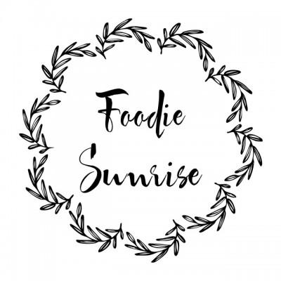 Foodie Sunrise ..